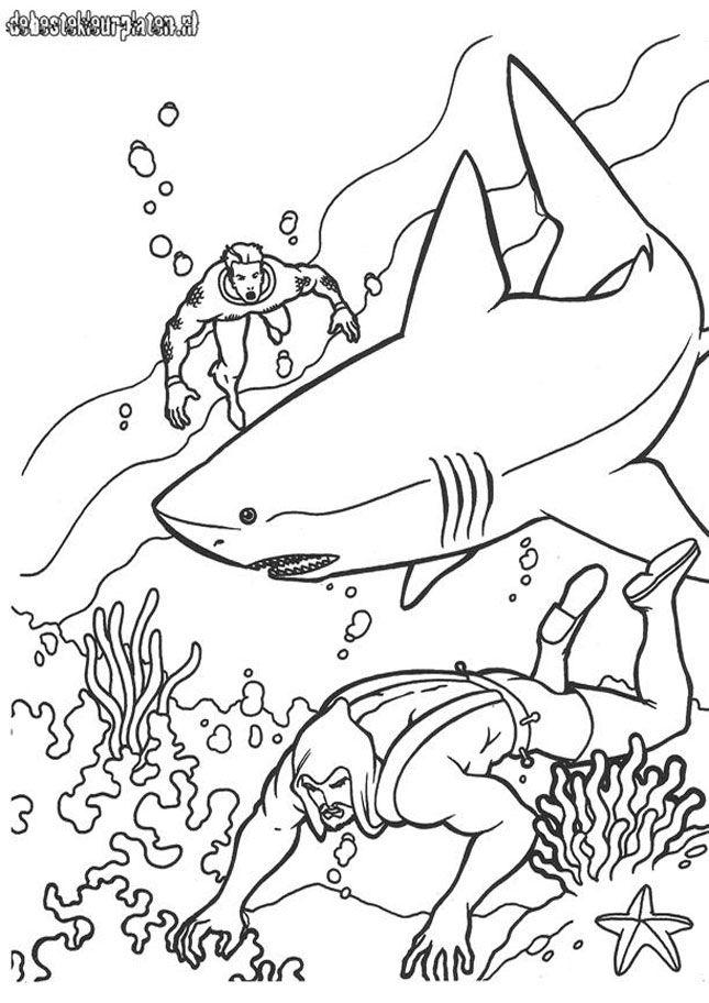 Aquaman 17 Printable Coloring Pages