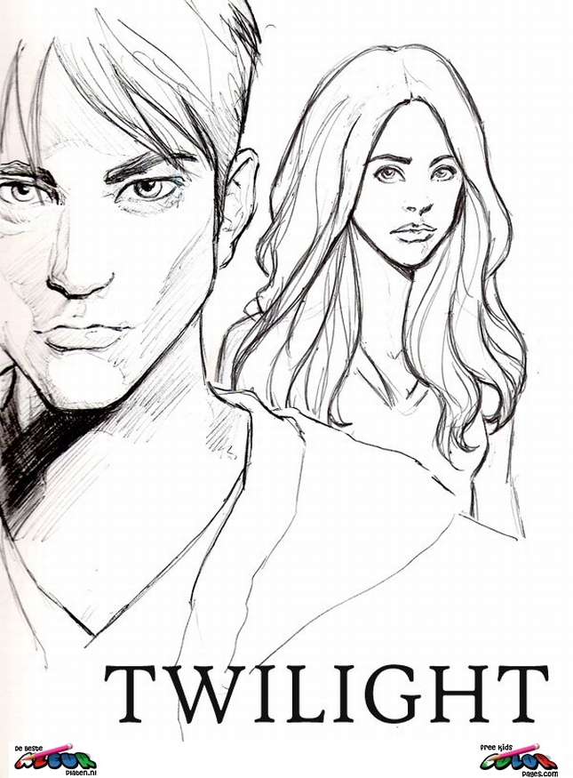 Twilight010 Printable Coloring Pages