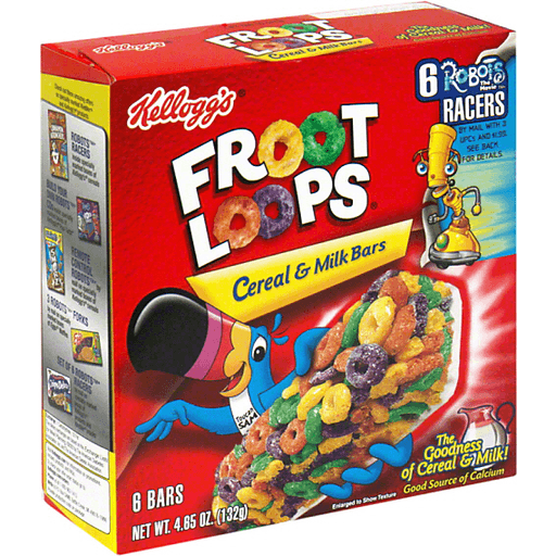 Froot Loops Cereal And Milk Bars Recipe