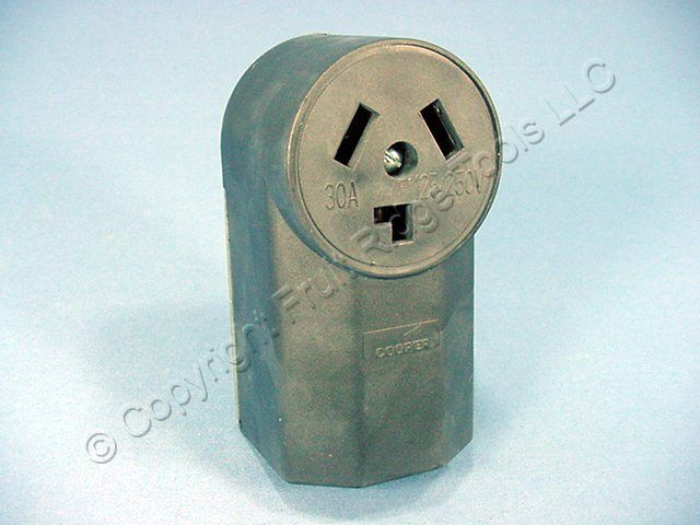 Eagle Electric Surface Mount Dryer Receptacle Outlet 10-30