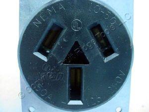 Leviton Range Outlet Receptacle 1050 50A 125250V NEMA 1050R 5206 | eBay
