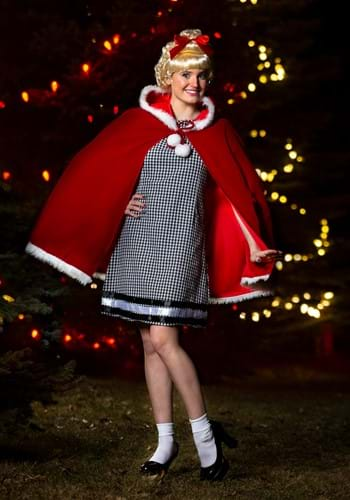 Womens Christmas Girl Costume