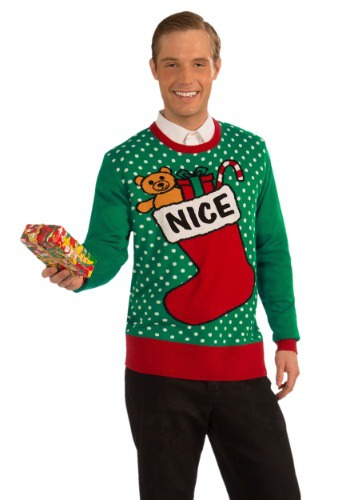 Nice Ugly Christmas Sweater