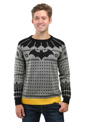 Classic Batman Ugly Christmas Sweater