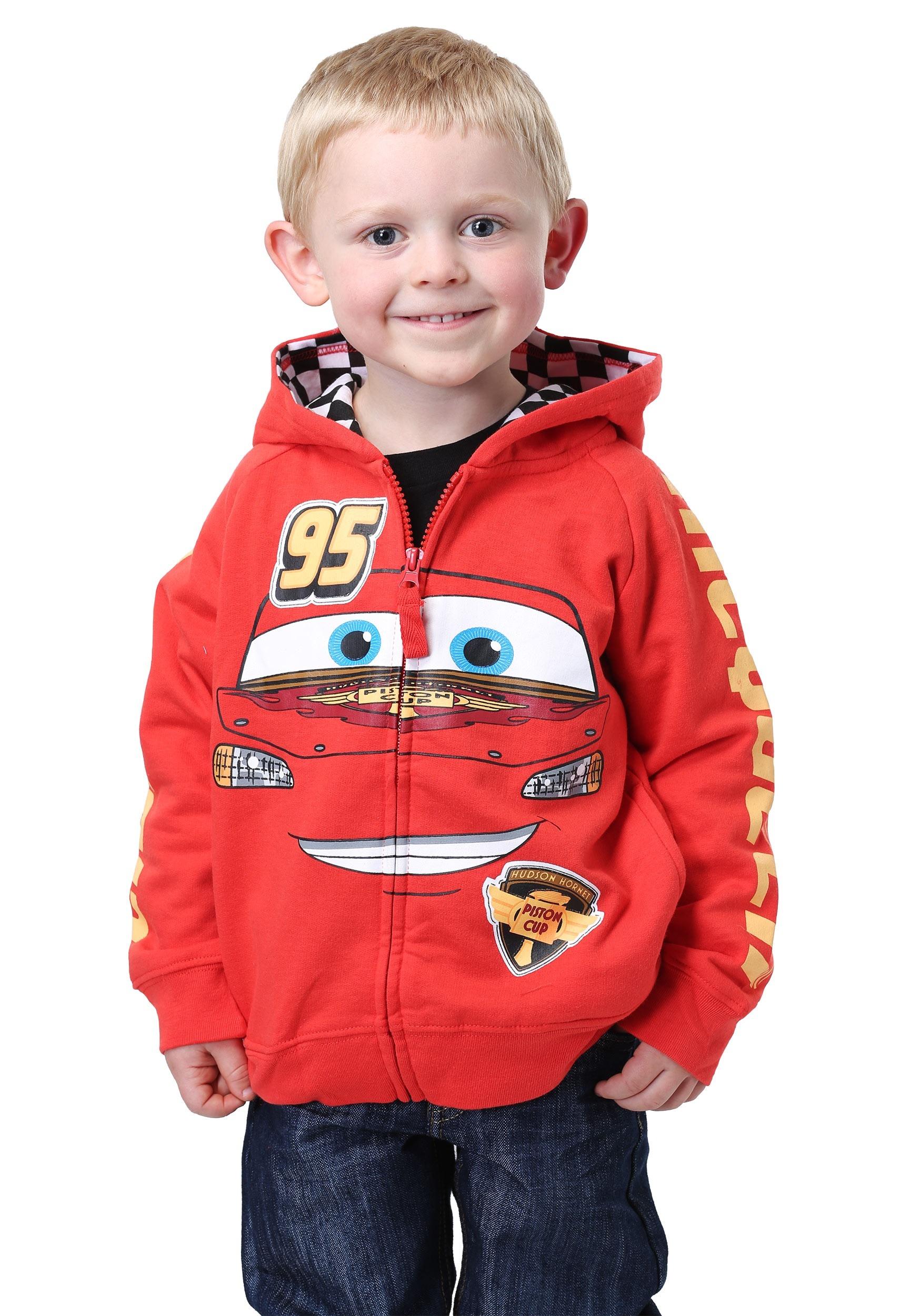Disney Cars Lightning Mcqueen Costume Hoofor Kids