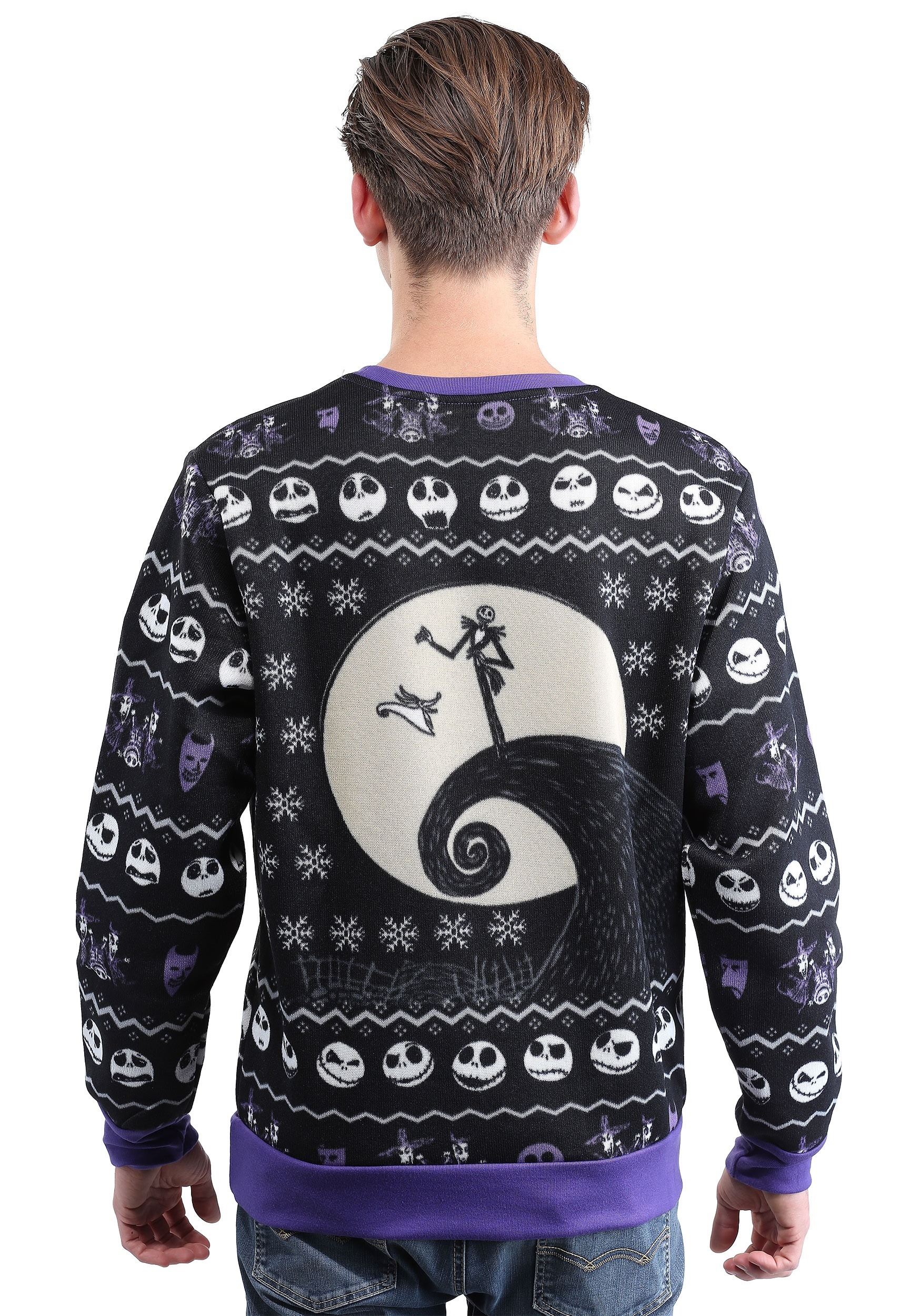Classic Nightmare Before Christmas Adult Ugly Christmas