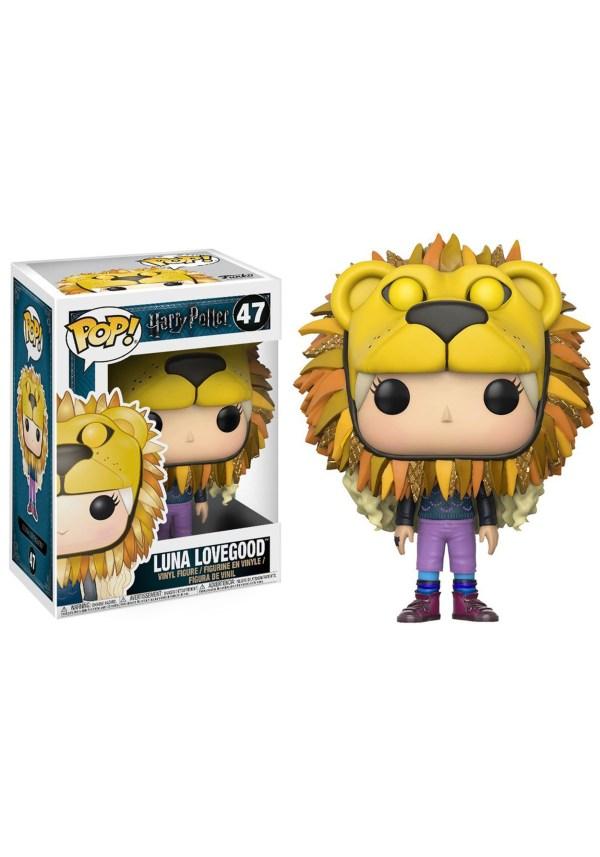 Pop! Harry Potter: Luna Lovegood (Lion Head) Vinyl Figure