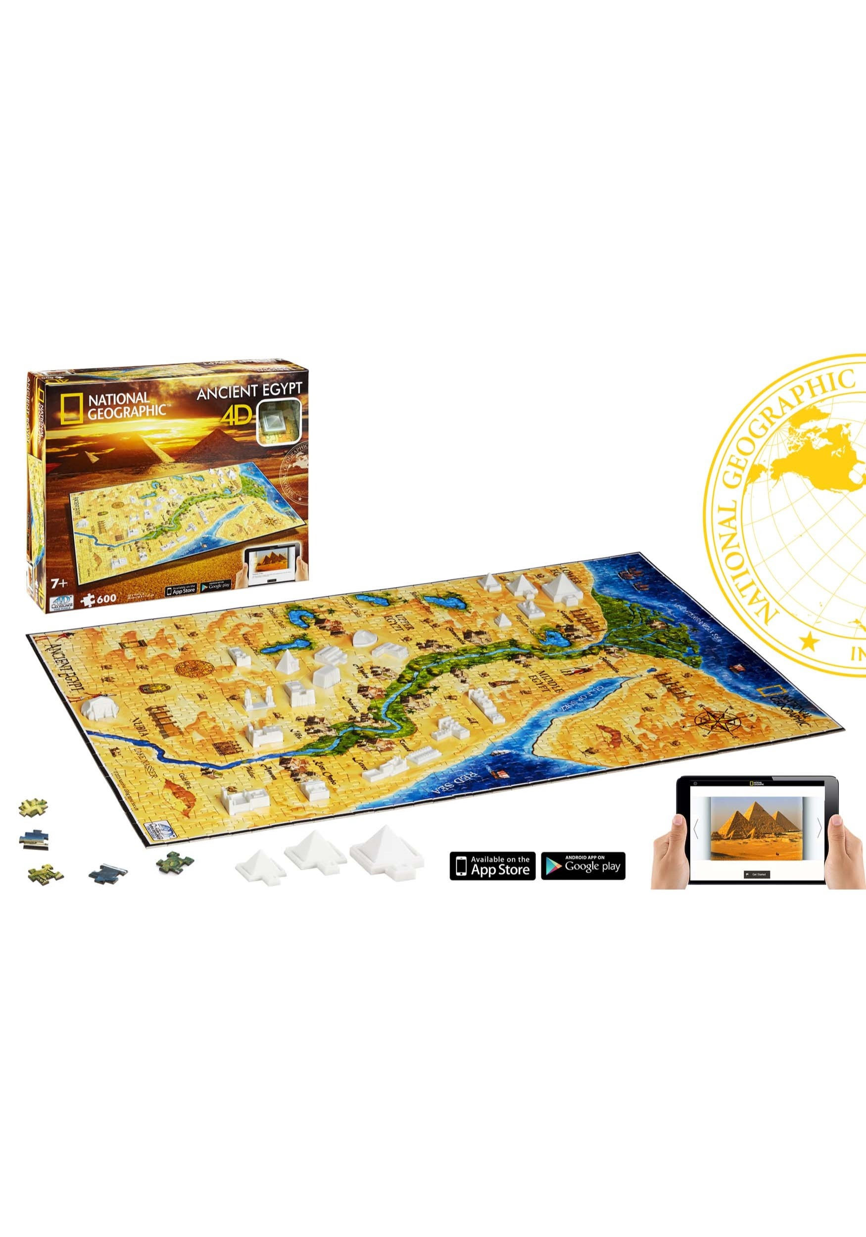 Ancient Egypt National Geographic 3d Puzzle