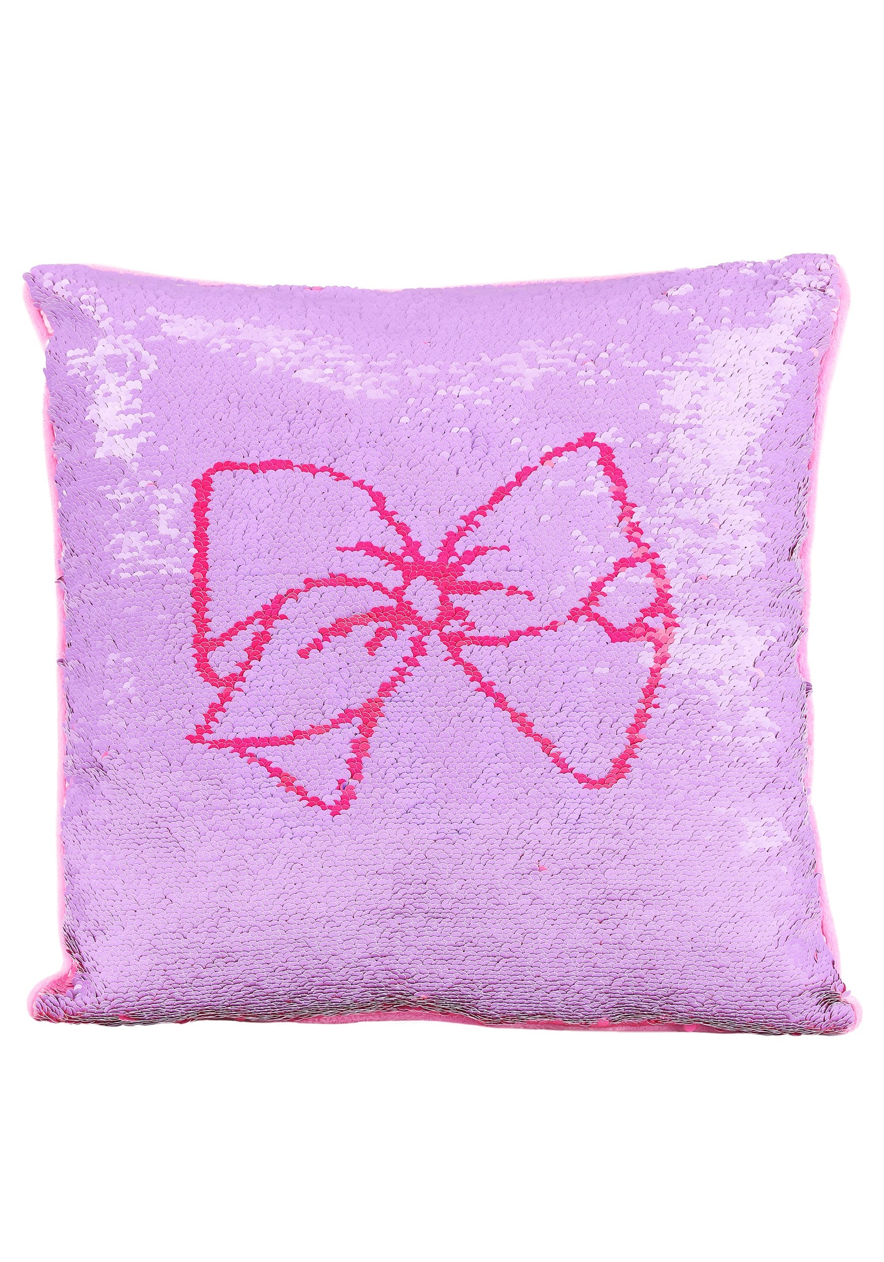 jojo siwa 16 x16 sequin pillow