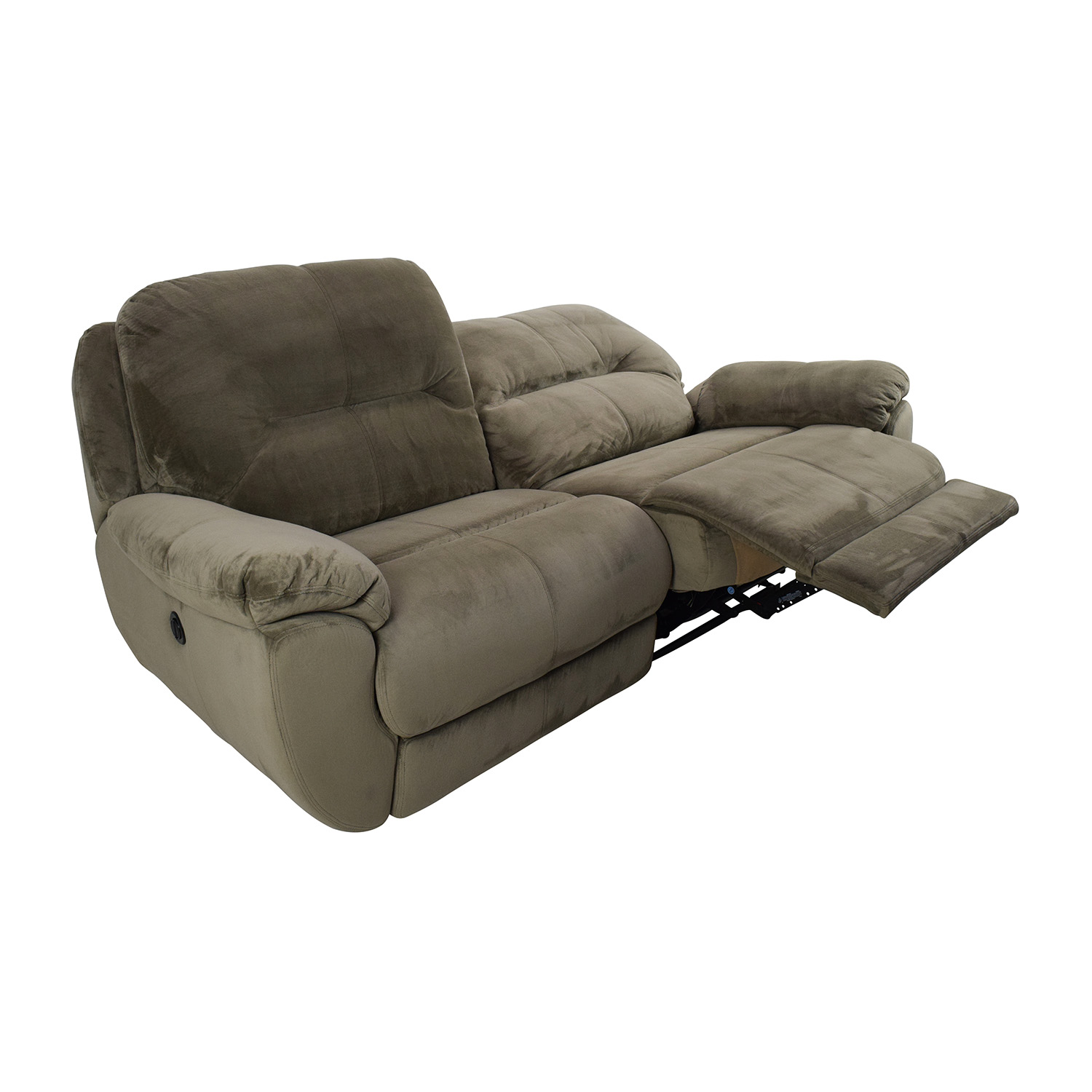 80 Off Kathy Ireland Home By Raymour And Flanigan. Power Reclining Sofa  Product Image