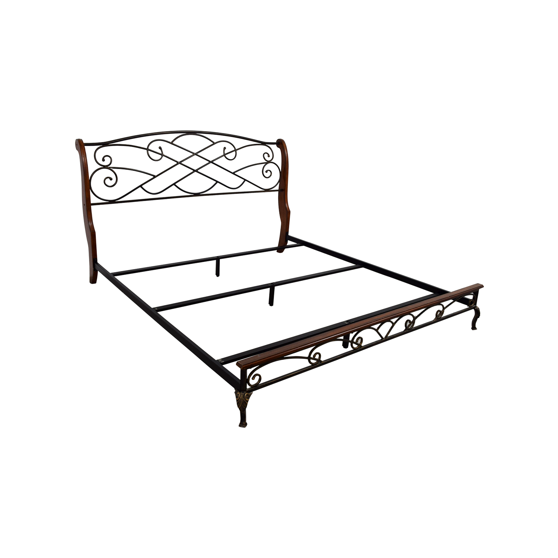 King Metal Bed Frame Wiring Diagram Database