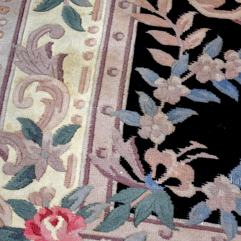 90 Off Black Oriental Multi Colored Floral Rug Decor