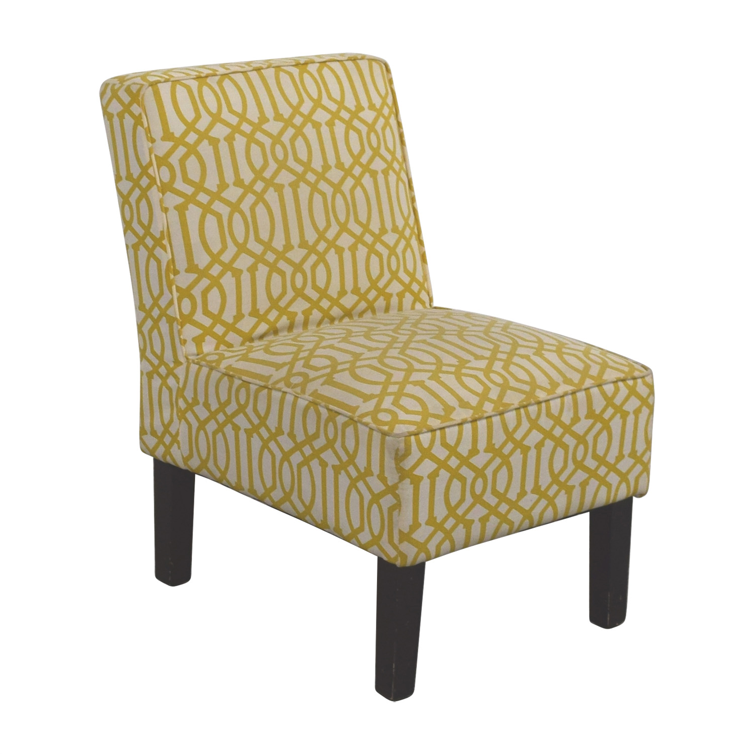 Yellow Furniture Chair Accent