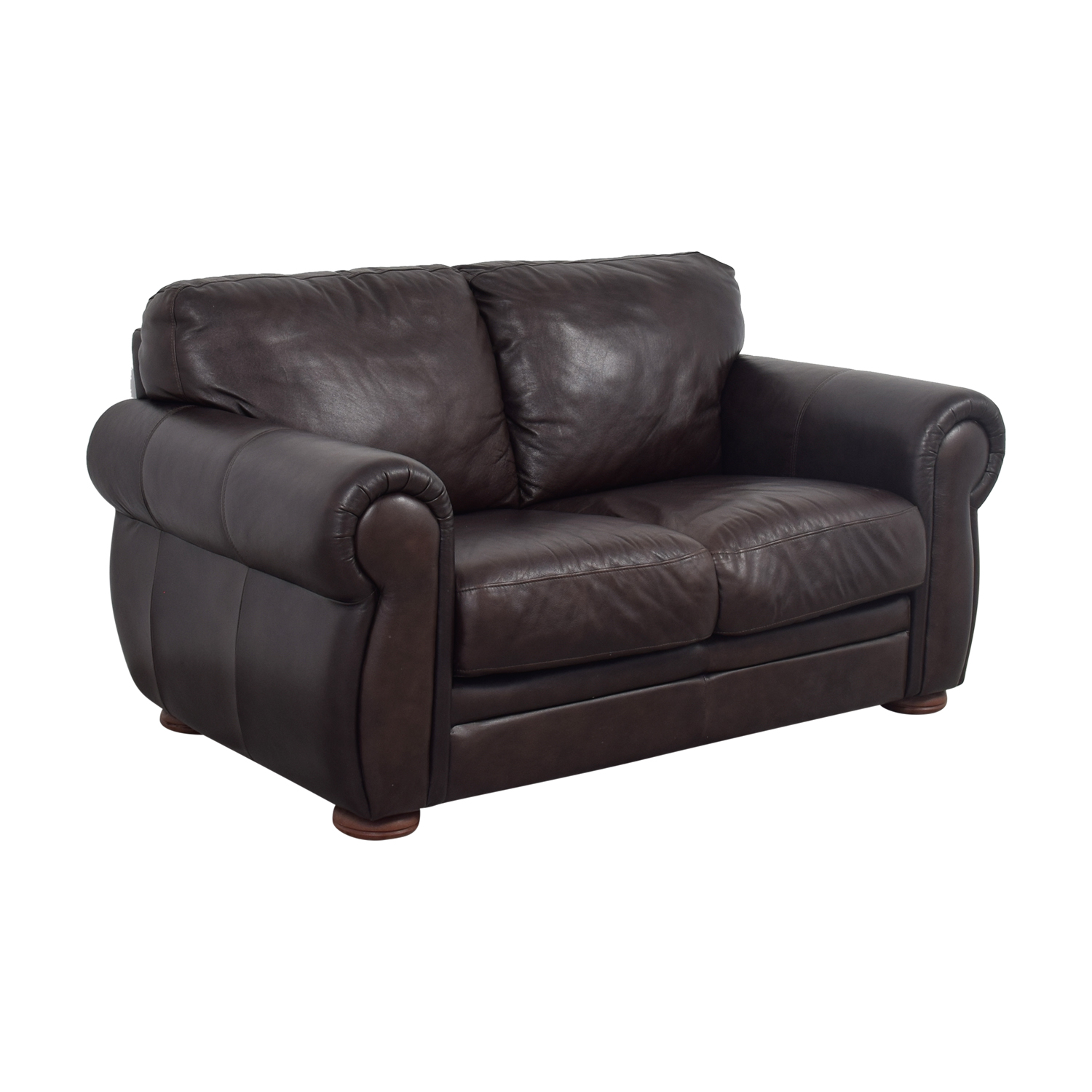 Accent Chairs Brown Leather Sofa