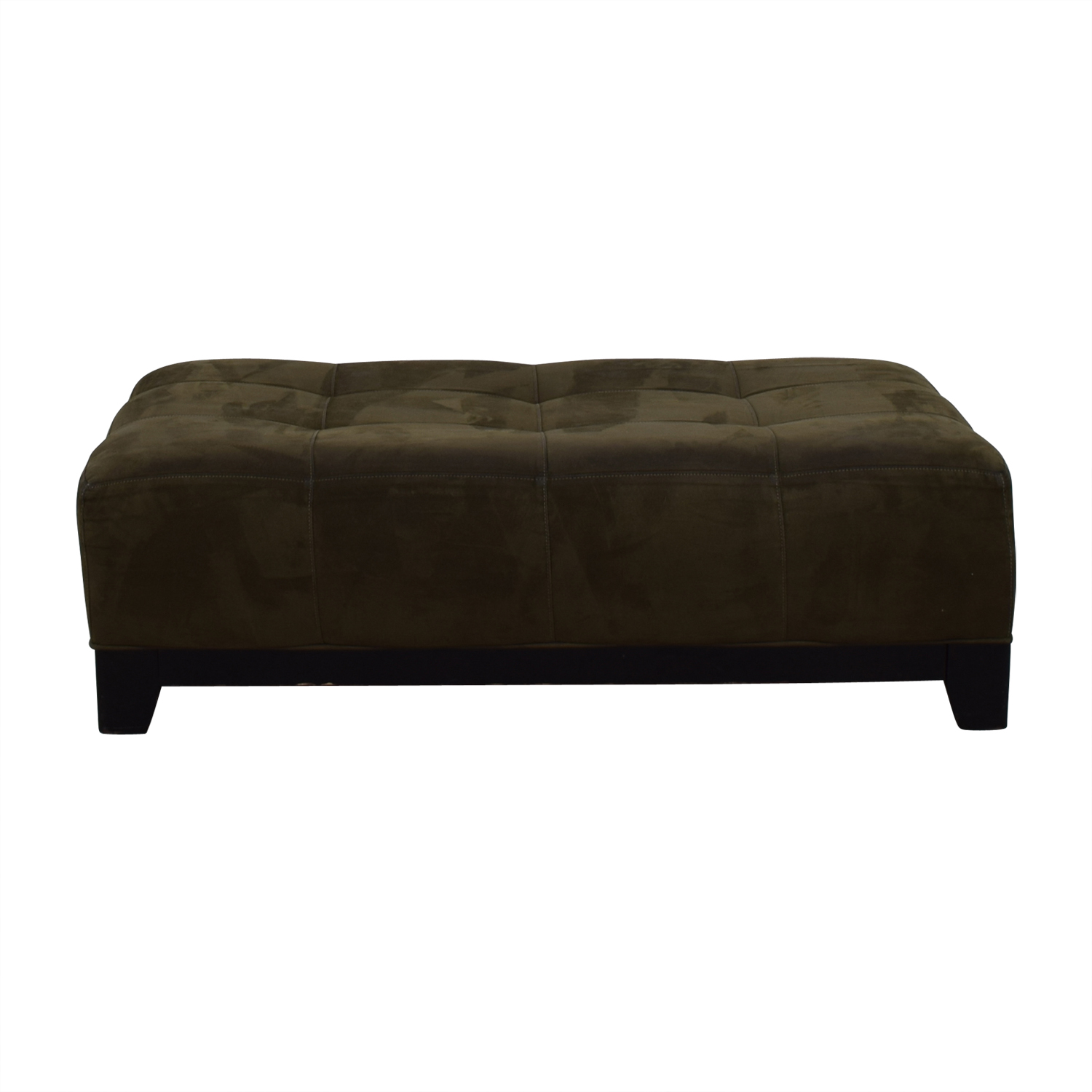 buy raymour flanigan brown leather ottoman raymour flanigan chairs