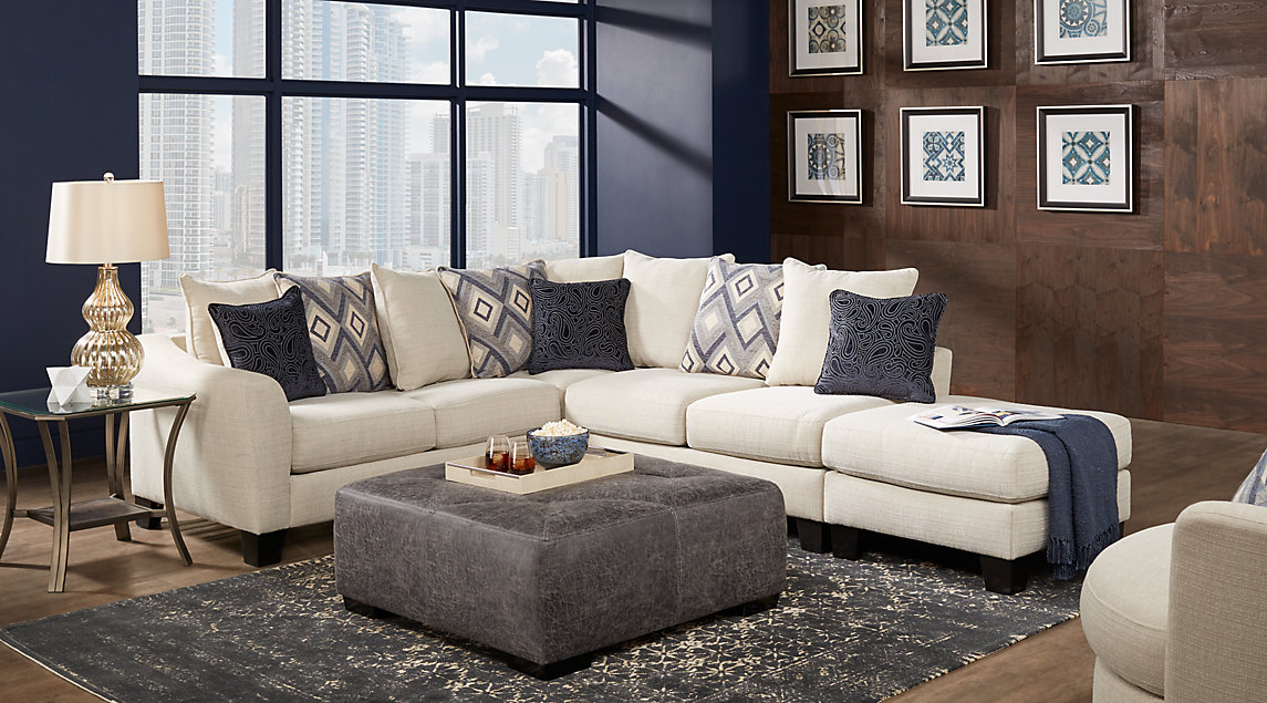 Navy Blue Gray White Living Room Furniture Ideas Decor Part 86