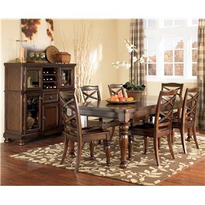Ashley Furniture Porter Server With Storage Cabinet Sparks HomeStore Amp Home Furnishings Direct