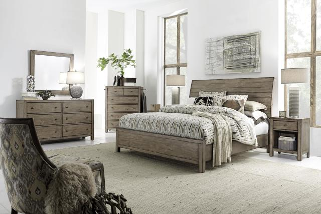 Aspenhome Tildon Six Drawer Dresser with Paneled Sides Belfort