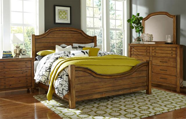 Broyhill Furniture Bethany Square Sideboard with 2 Doors Wayside