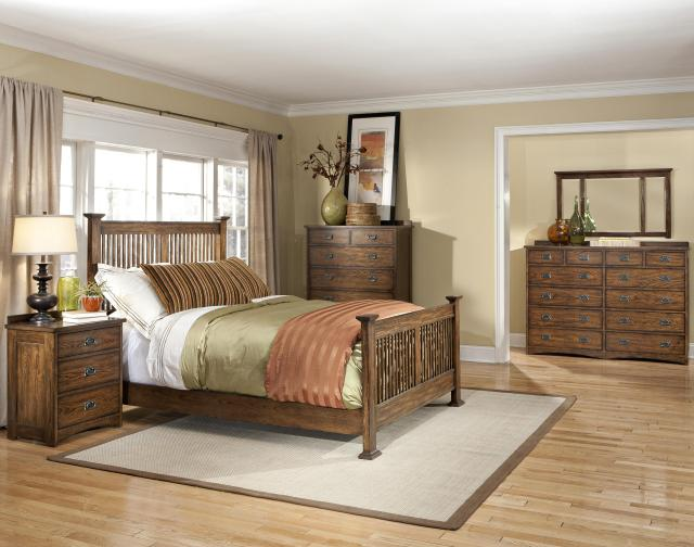 Intercon Oak Park King Bedroom Group Wayside Furniture Bedroom
