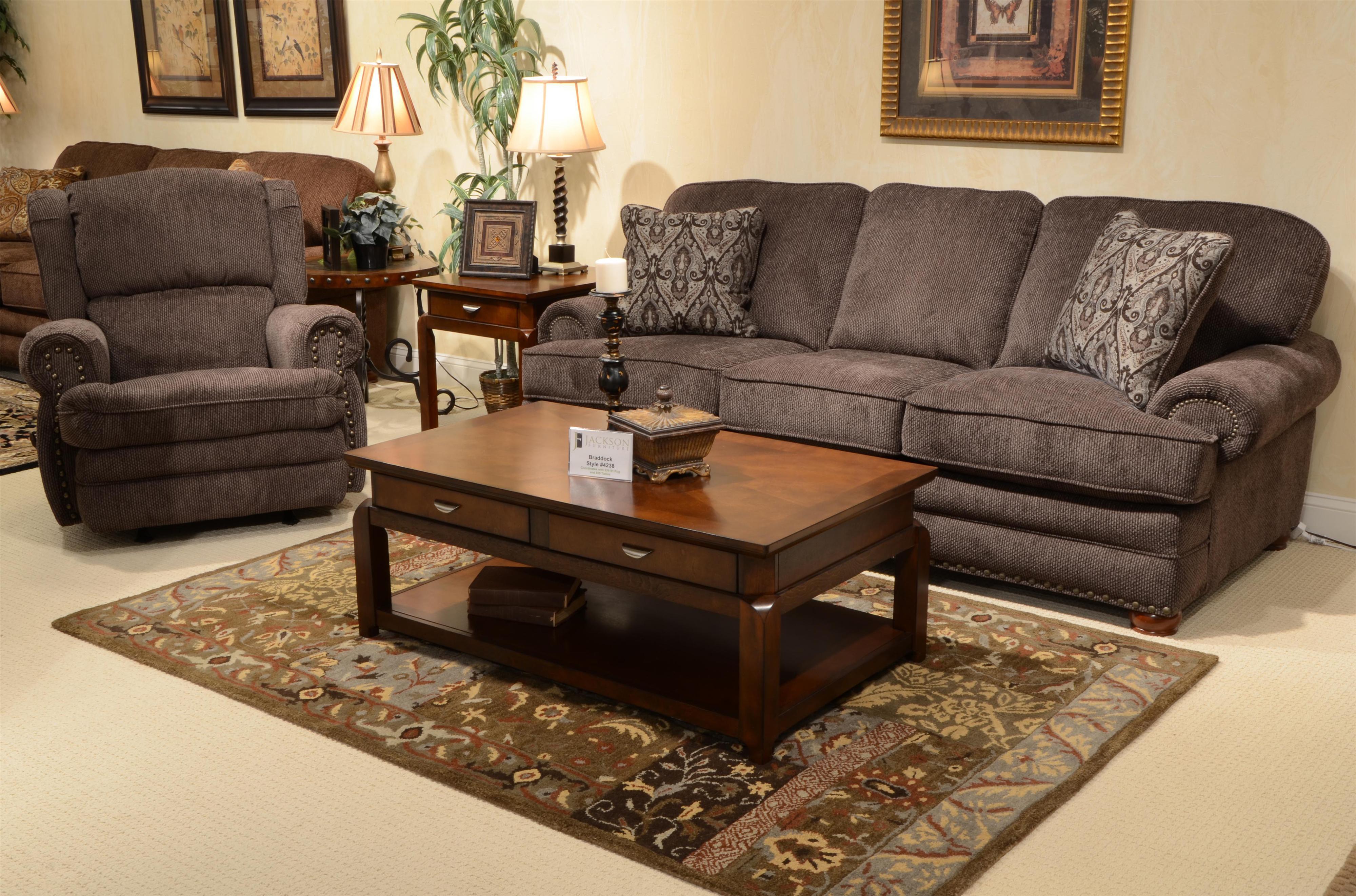 Braddock 4238 By Jackson Furniture Adcock Furniture
