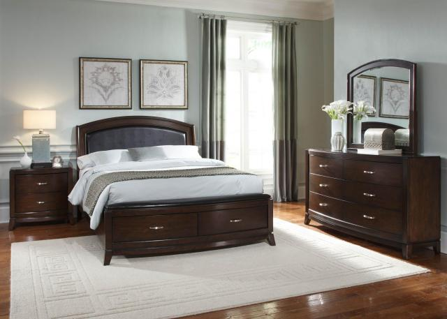 Liberty Furniture Avalon 6 Drawer Dresser with Tapered Feet