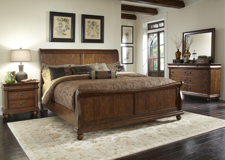 Liberty Furniture Rustic Traditions 589-BR-QSLDMN Queen