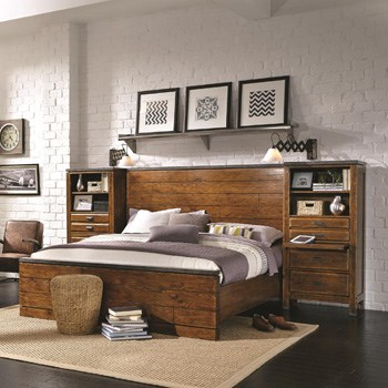 Storage Bed Guide   Rife s Home Furniture   Eugene  Springfield     As the name implies  bookcase beds offer the 2 in 1 function of a bookcase  and a bed  This bed style features a headboard with some form of shelving   making