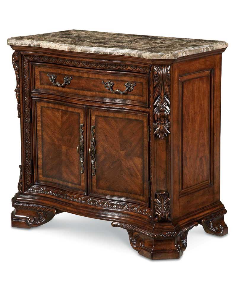 ART Furniture Inc Old World Door Nightstand With Secret