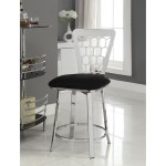 Acme Furniture Felice 96836 Metal Counter Height Bar Stool Set Of 2 Corner Furniture Bar Stools
