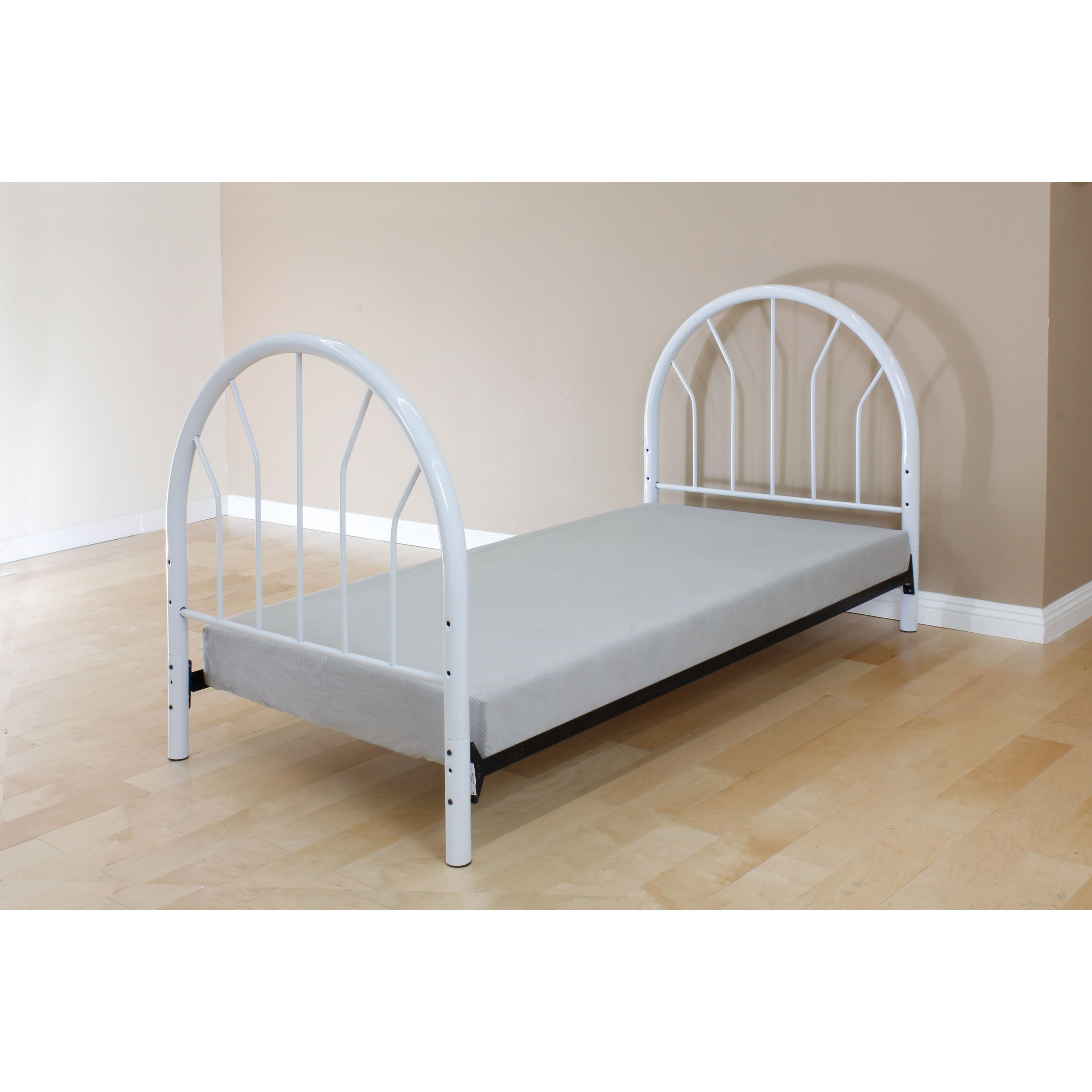 Acme Furniture Silhouette 02054w Kids Twin Metal Bed Headboard Footboard Only Del Sol Furniture Panel Beds