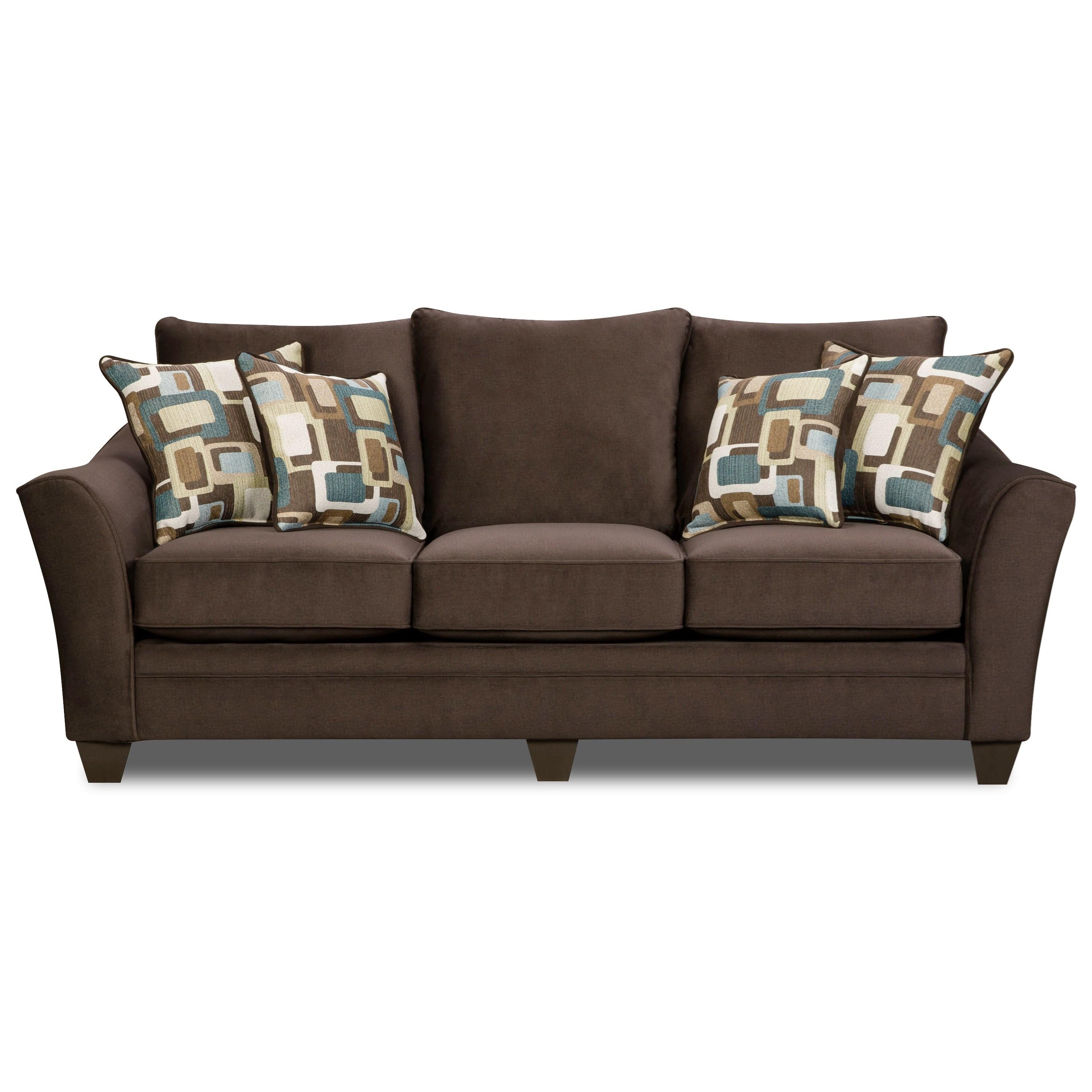 American Furniture 3850 Elegant Sofa With Contemporary