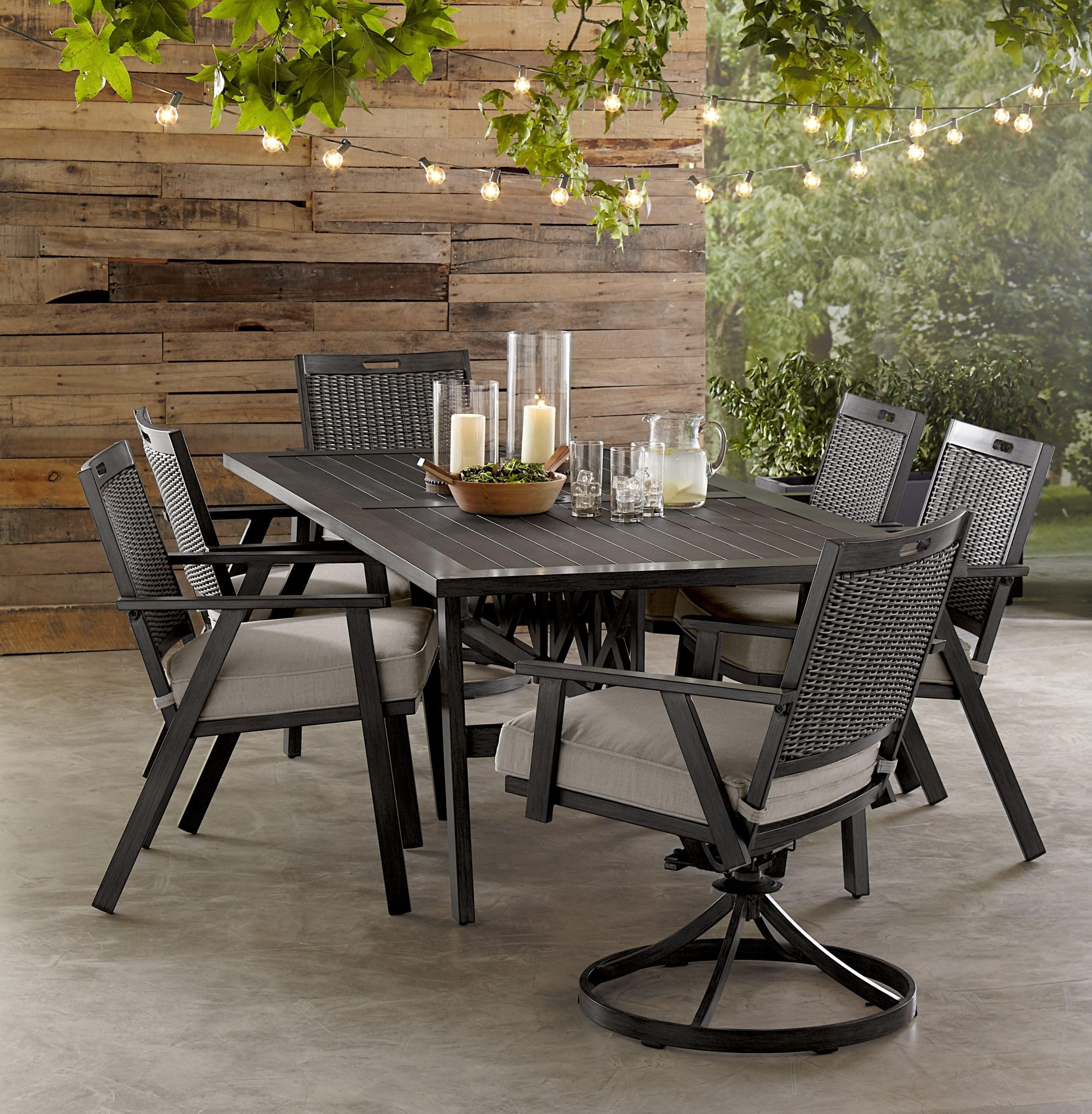 addison dining table 4 chairs 2 swivel chair
