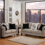 Florentine Mink Living Room Set