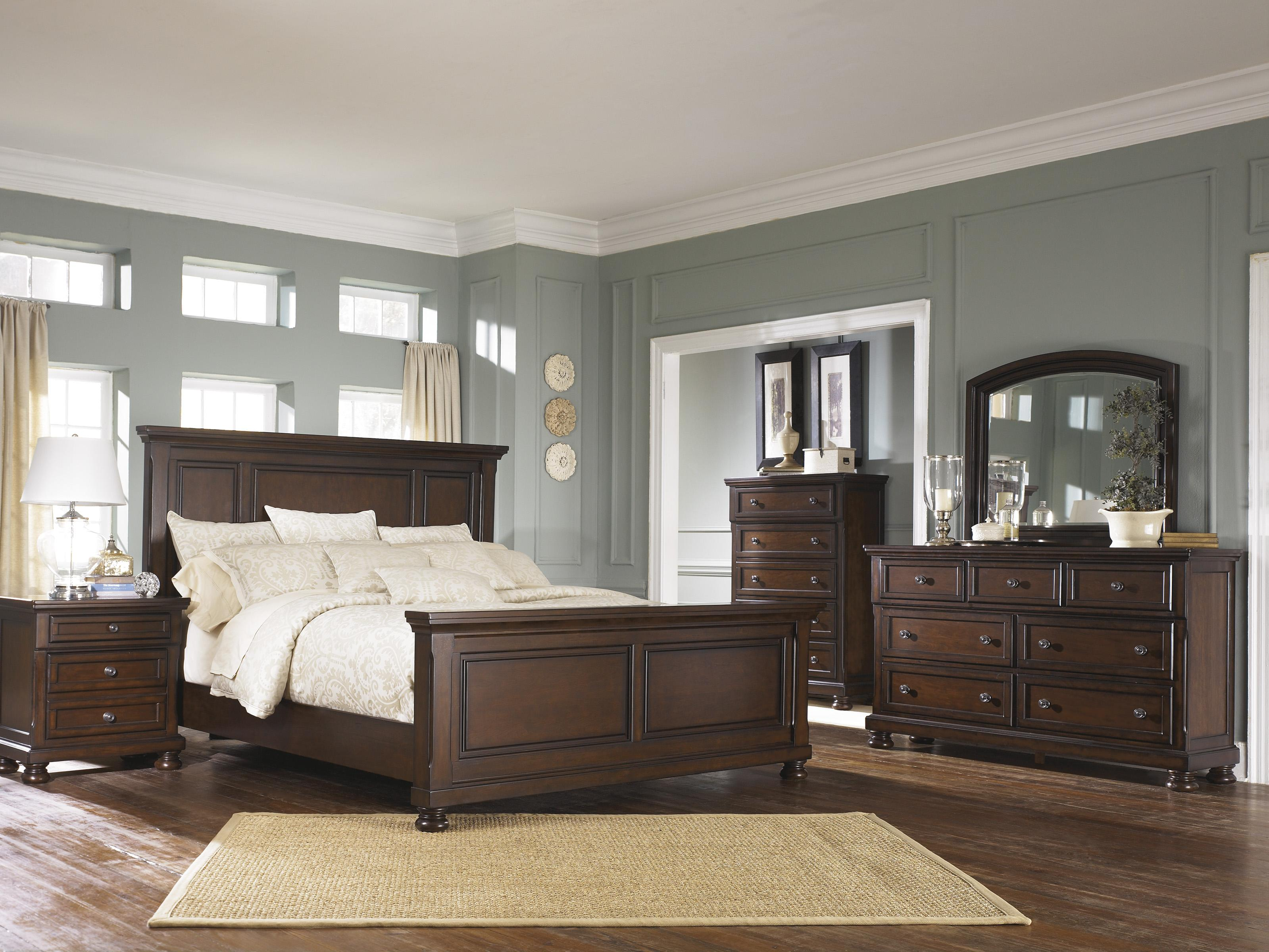 Ashley Furniture Porter Queen Bedroom Group Wayside