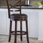 Millennium Porter 1308190 Bar Height X Back Tall Upholstered Swivel Barstool Dunk Bright Furniture Bar Stools