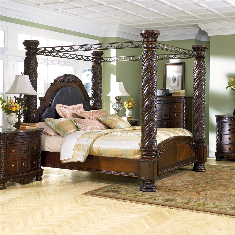 Millennium North Shore California King Canopy Bed Value