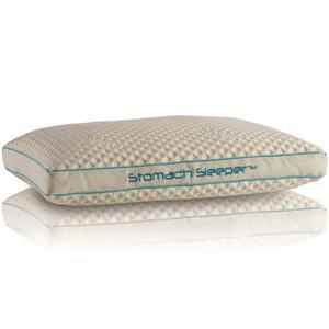 4 0 position pillows stomach sleeper position pillow by bedgear at belfort furniture