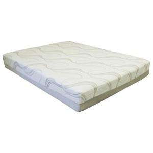 Bedtech Gel Lux 12 Twin Memory Foam Mattress