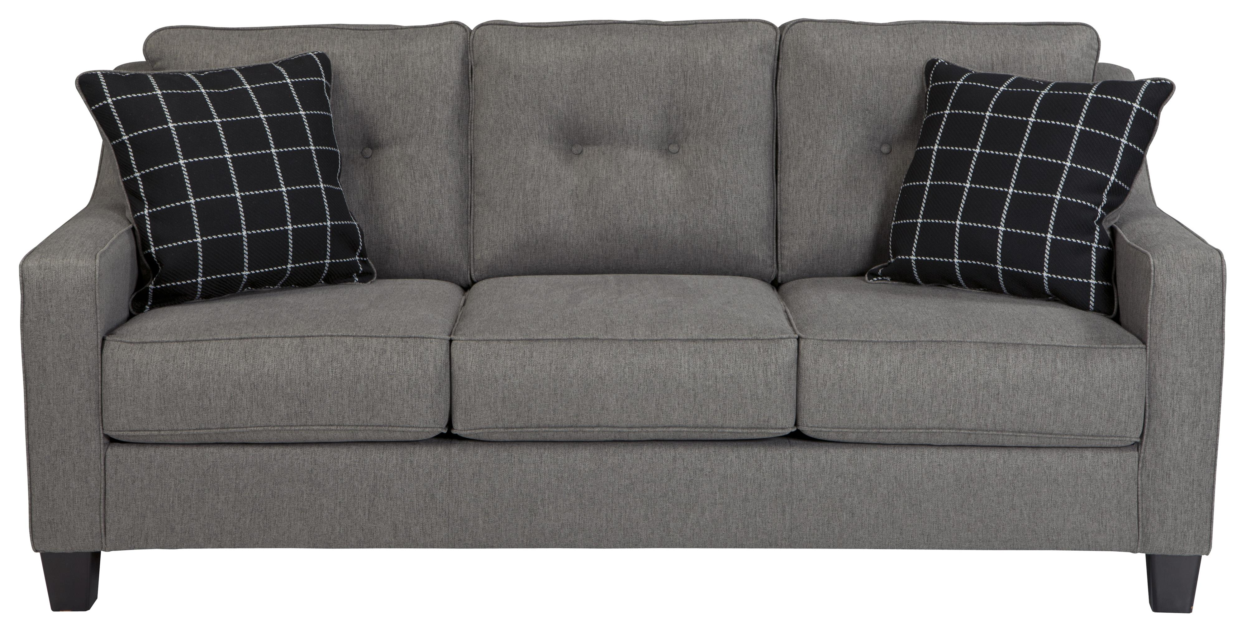 Benchcraft Brindon Contemporary Sofa With Track Arms