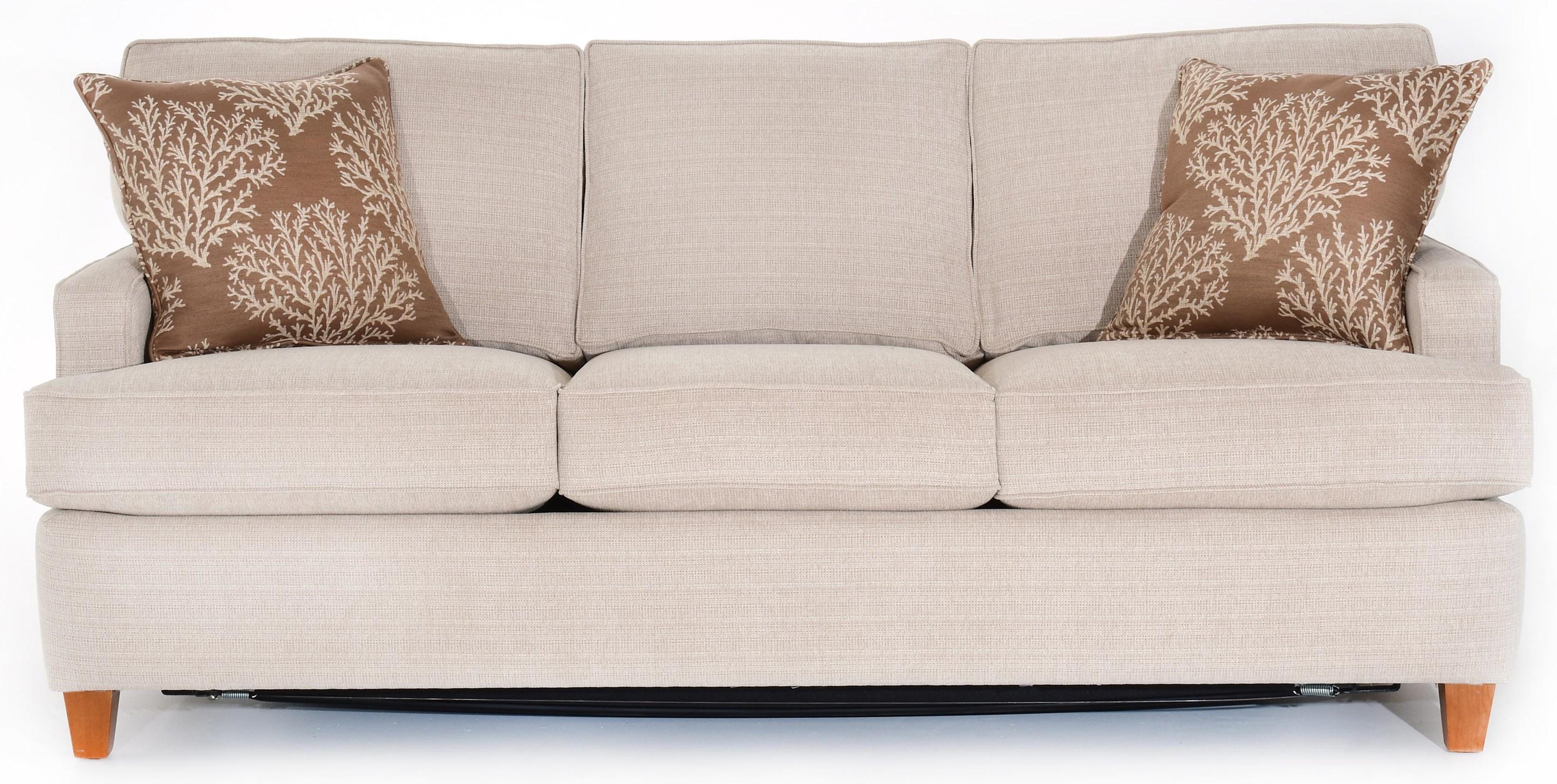 Capris Furniture 162 S162 Contemporary Small Scale Sofa