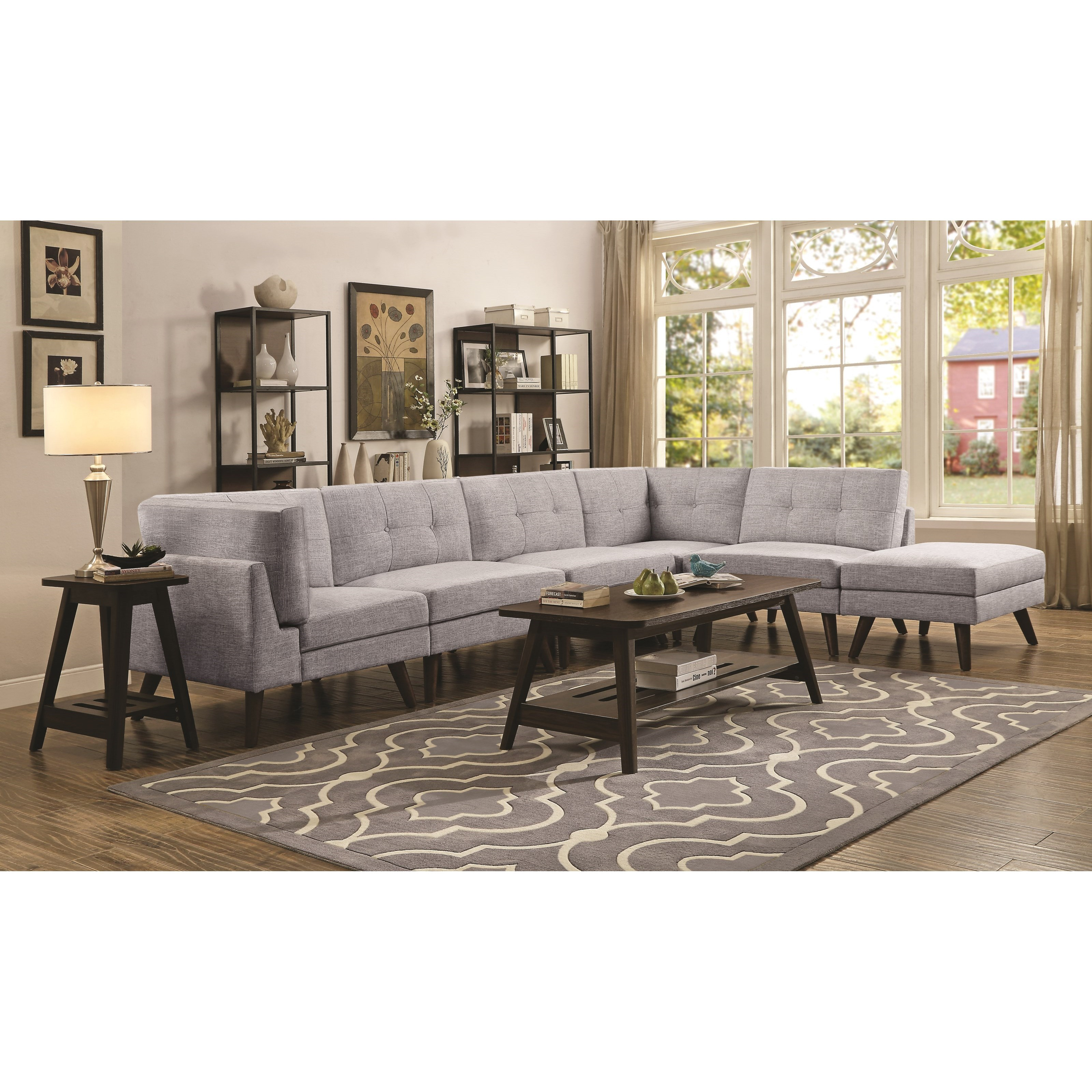 Churchill 4 Seat Sectional