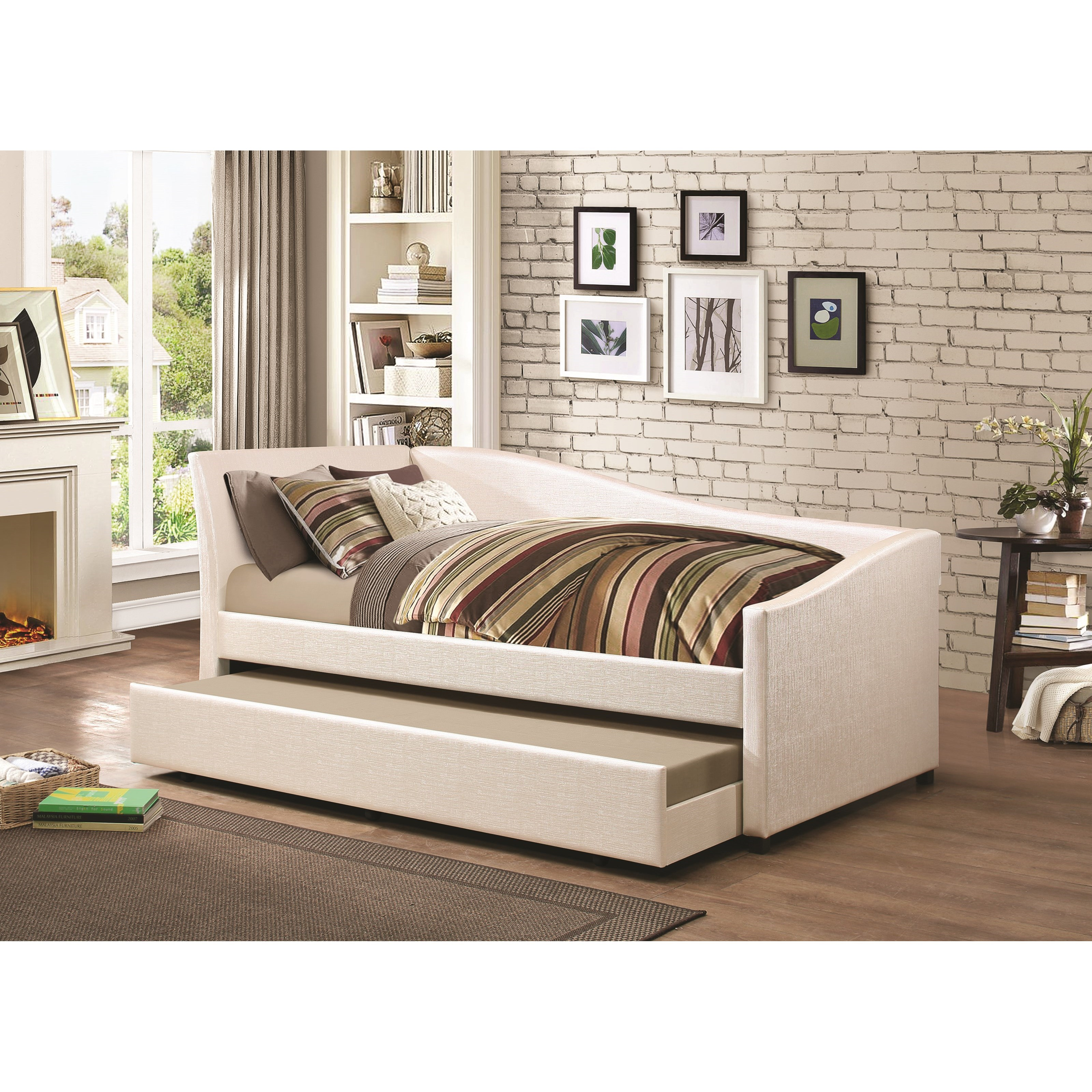 Coaster Daybeds By Coaster 300509 Twin Daybed With