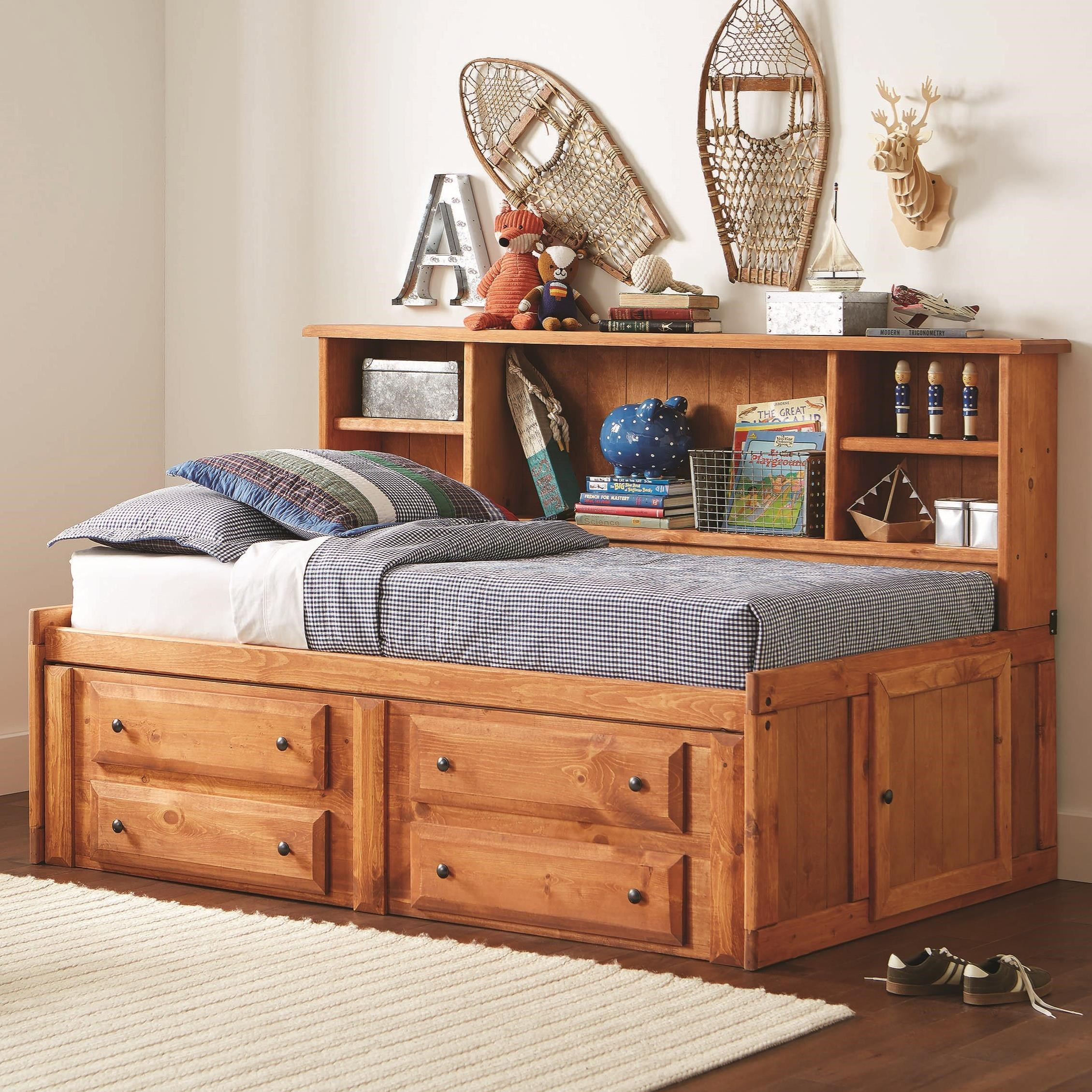 Wrangle Hill Twin Storage Daybed