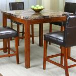 Cramco Inc Cramco Trading Company Mayfair 22450 58 Pub Table W Faux Marble Top Nassau Furniture And Mattress Pub Tables