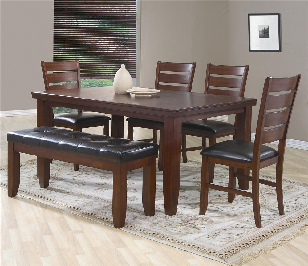 Dining Table 4 Chairs And Bench