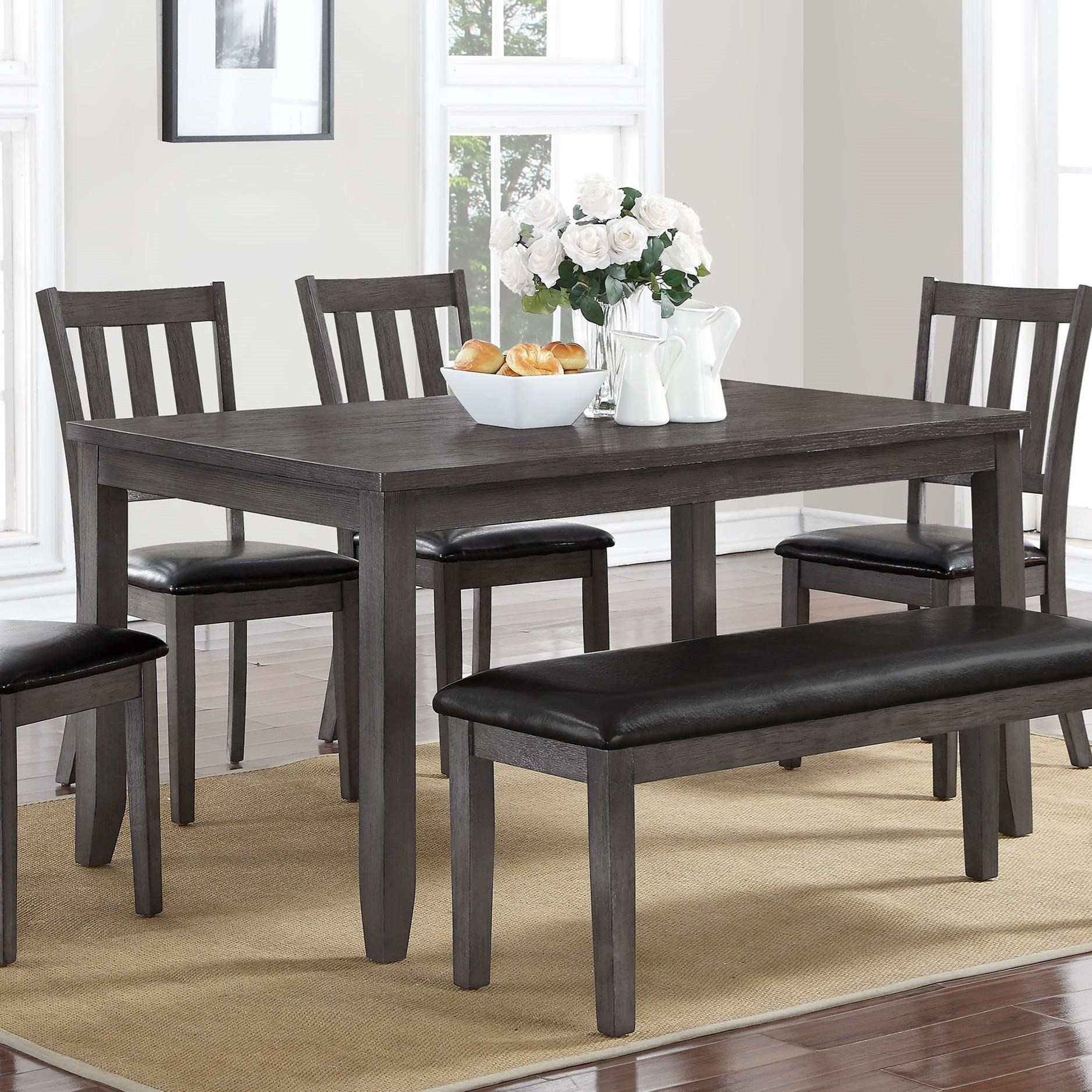 Transitional Dining Table Cosgrove By Crown Mark