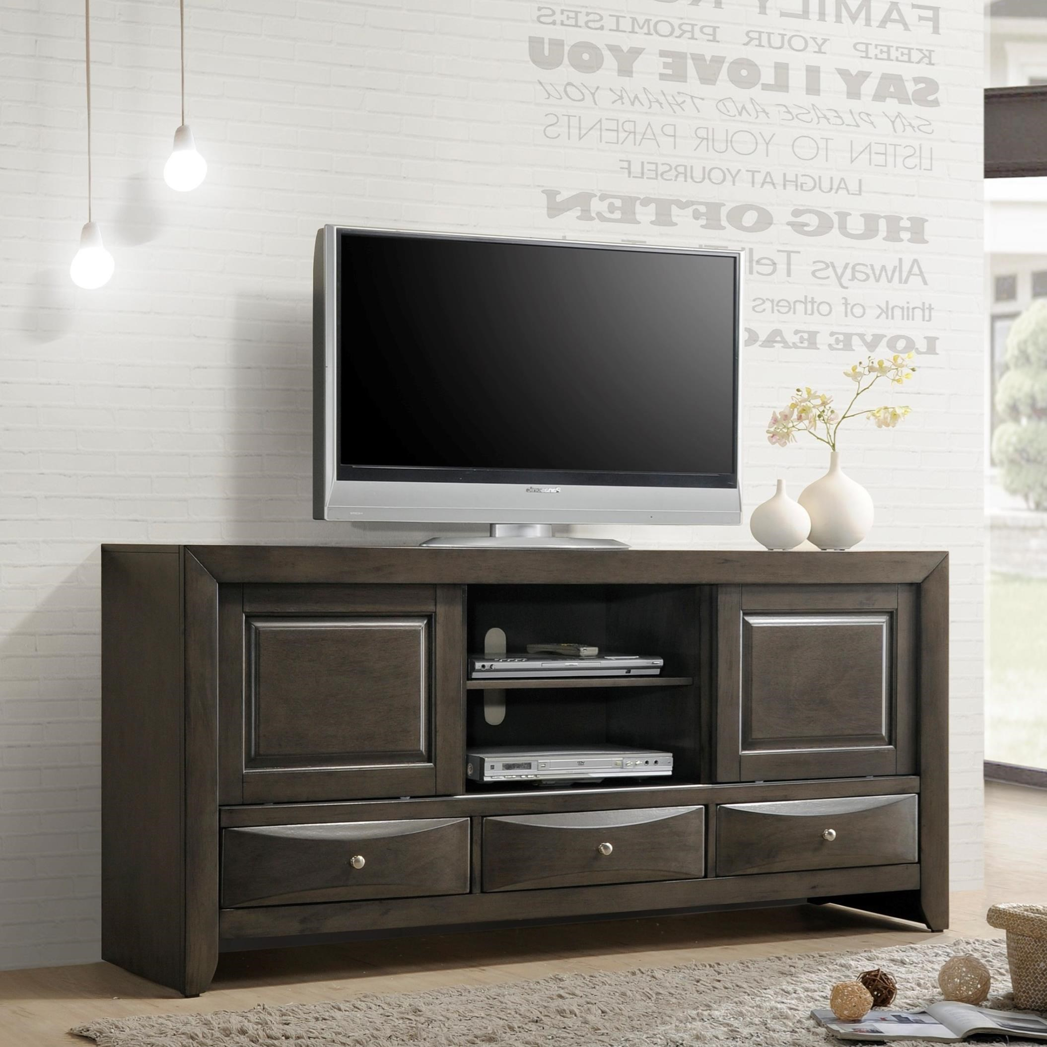 Crown Mark Emily Transitional TV Stand Darvin Furniture