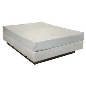 Enso Sleep Systems Kona King 8 Gel Memory Foam Mattress Set