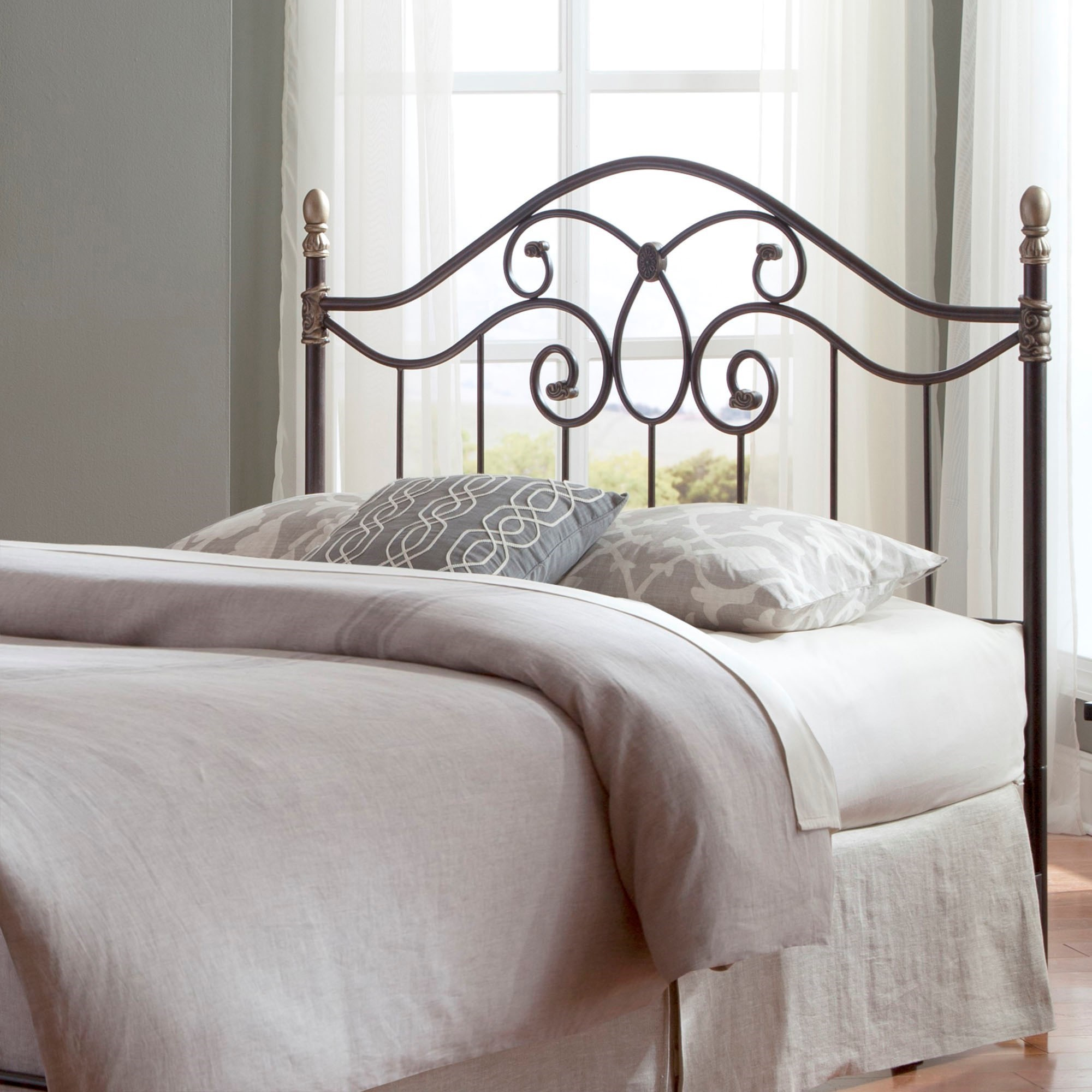 Fashion Bed Group Metal Beds California King Traditional